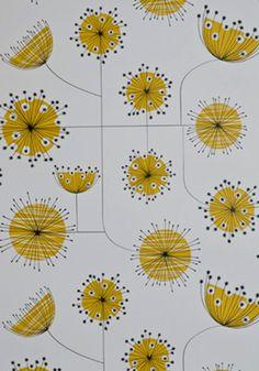 Eine Gelbe Tapete Im Schlaf  Oder Wohnzimmer Wirkt Sehr Erfrischend