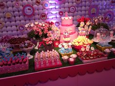 #festa #party #hellokitty #cake #bolo #candy #doces #pirulito #lollipop #marshmallow