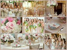 soft romantic vintagey champagne and blush wedding inspiration by elsa Ballroom Wedding Reception, Wedding Reception Flowers, Wedding Colors, Floral Wedding, Wedding Dinner, Wedding Receptions, Wedding Bouquets, Wedding Dresses, Summer Wedding Centerpieces