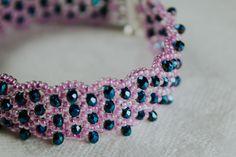 1. Glass crystal 3×2 mm 2. Czech beads nr. 10