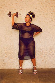 Plus Size Beach Wear Editorial Babu Carreira + Gisella Francisca => Brazilian Plus Size Bloggers Photography by Géssica Hage