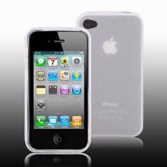 iPhone 4, 4s bescherm hoesje, case, cover (Wit)