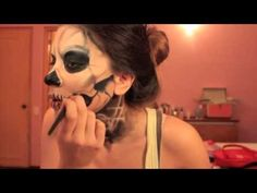 Lady Gaga 'Born This Way'/Zombie Boy skull face makeup tutorial—cool for Halloween
