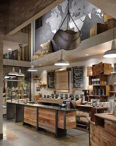 Coffee Shop furniture | Starbucks coffee shop design – unfinished furniture