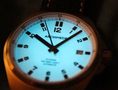 "Archimede Outdoor Watch Review - by Patrick Kansa - Read and see more on aBlogtoWatch.com ""When I've taken a look at Archimede watches in the past, they've always presented themselves as refined watches, something that's perhaps more suited to an office, or a night out on the town. Which isn't to say that you couldn't head out to the backwoods with their watches, it's just that the styling seemed incongruent to that activity..."""