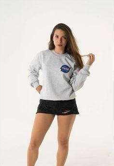 Nasa grey sweatshirt
