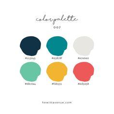 Website Color Palette, Website Color Schemes, Color Schemes Colour Palettes, Colour Pallette, Color Combos, Flat Color Palette, Color Schemes For Websites, Logo Color Schemes, Pantone Colour Palettes