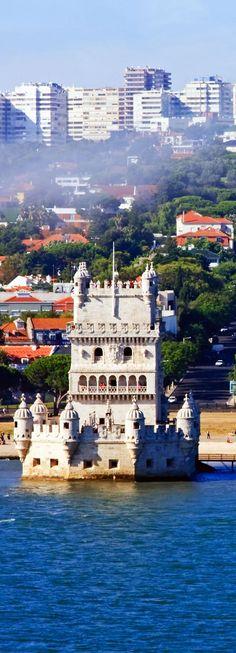 Torre de Belem de Lisboa, Portugal |  Fotografía increíble de las ciudades y Señales famosas de alrededor del mundo