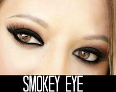Hoje eu trago para vocês este olho poderosíssimo, o famoso SMOKEY EYE feito com produtinhos de fácil acesso para