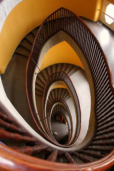 Staircases in Wroclaw (Poland)