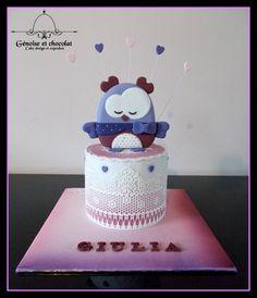 Mademoiselle Bou (Sauthon) cake by Génoise et chocolat