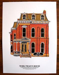 Mark Twain's house in Buffalo.