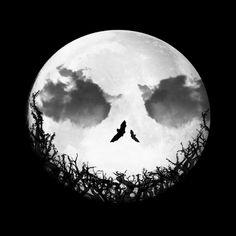 Jack-O-Moon #Nightmarebeforechristmas #Moon
