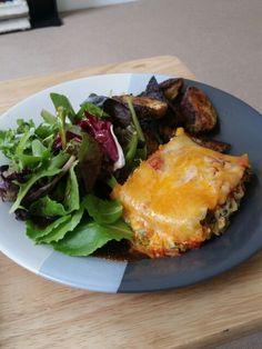 Eggplant and spinach lasagna rolls