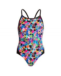 """Girl's """"Handsome Ransom"""" one-piece swimsuit Wild Waters, Swimsuits, Swimwear, One Piece Swimsuit, Handsome, Color, Fashion, Bathing Suits, Womens Bodysuit"""