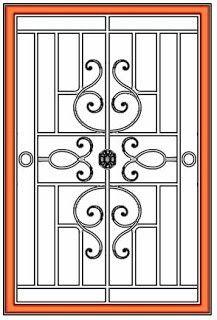 Window Grill Iron Door Design Steel Door Design Window Grill