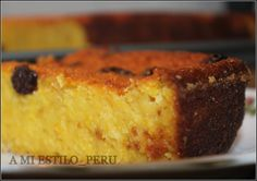 Pastel de Choclo Peruano amiestilo Peruvian Desserts, Peruvian Dishes, Peruvian Cuisine, Peruvian Recipes, Köstliche Desserts, Delicious Desserts, Yummy Food, Yummy Yummy, Hispanic Desserts