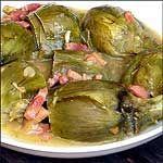 Recetas light fáciles: Alcachofas a la navarra.