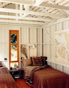 Minus the rusty brown bedrooms.  (via My Paradissi: Into the mountains)