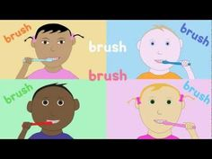 song about brushing your teeth. Video by KidsTV123 Copyright 2012 A.J. Jenkins/KidsTV123: All rights reserved. For free MP3s, worksheets and much more: http://www.kidstv123.com Kids songs for children Chords: Capo 3rd Fret G C D G C D C G C D C D G C D G C D G C C D