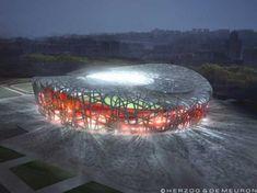 Beijing National Stadium (Bird's Nest). China.