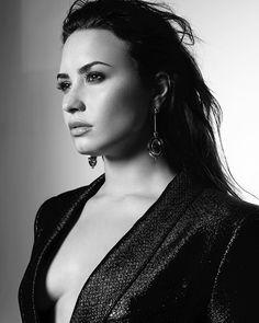Demi Lovato's album photoshoot