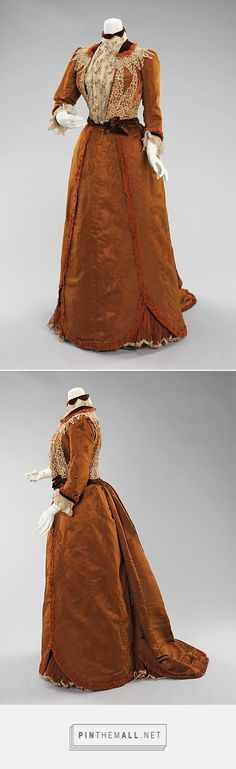Dinner dress by House of Worth 1897-1900 French | The Metropolitan Museum of Art