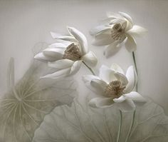 Flowers In The Wind by Errikos Artdesign