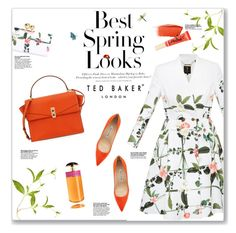 """""""Spring Style"""" by lauren-a-j-reid ❤ liked on Polyvore featuring moda, Ted Baker, H&M, Manolo Blahnik, Henri Bendel, Prada, Hourglass Cosmetics e Too Faced Cosmetics"""