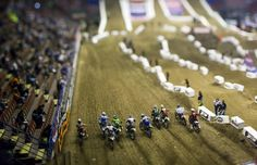 Tilt-Shift Photography #motocross #supercross