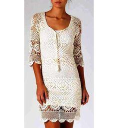 crochet dress patterncrochet motifs patternlace by ThePoshCrochet