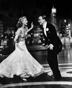 'the piccolino' from 'top hat', fred astaire and ginger rogers