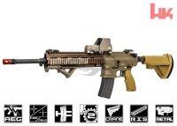 airsoft masks commandairsoft com airsoft gear s 1819 elite force m27 iar aeg airsoft gun tan by vfc by elite