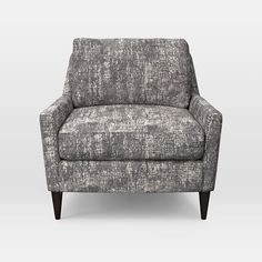 Everett Chair, Retro Weave, Feather Gray