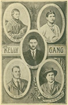 Wiki page on Australian Bushrangers the Kelly Gang. Famous Outlaws, Ned Kelly, Australian Bush, Old Cottage, Australia Day, Historical Pictures, Black And White Pictures, History Books, Back In The Day
