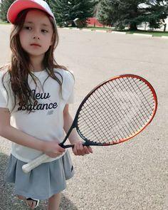Ulzzang Kids, Japan Girl, Beautiful Children, Cute Babies, Little Girls, Tennis, Kids Outfits, Kids Fashion, Clothes