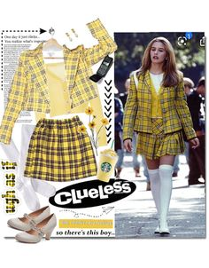 Clueless Fashion, Clueless Outfits, 2000s Fashion, Clueless Style, Cher Clueless, Girl Fashion, Fashion Outfits, Retro Outfits, Casual Outfits