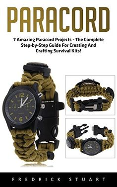 Looking for cool paracord projects to work on? We chose some of our favorite projects to share with you and we hope you enjoy as much as we do. Survival Books, Survival Kits, Survival Guide, Monkey Fist Keychain, Paracord Projects, 550 Paracord, The Way Home, Paracord Bracelets, Step Guide