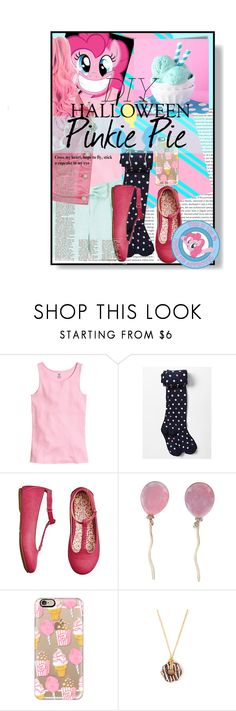"""""""DIY halloween Pinkie Pie"""" by didneyworl ❤ liked on Polyvore featuring Cotton Candy, Post-It, Maison Kitsuné, Aéropostale, Vhernier, Casetify, Dylan's Candy Bar, My Little Pony, women's clothing and women's fashion"""