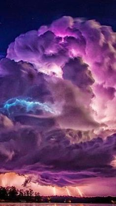 Spectacular Storm in Alberta Canada