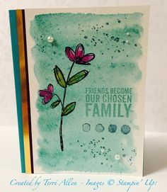Mother's Love, Occasions 2015 catalog, Stampin' Up!