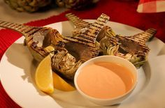 Grilled Artichokes - Great!  Always wanted to know how to grill them like this.