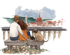 Our blog header, painting by @inslee Inslee Haynes #italy #watercolor #florence