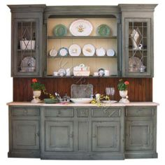 painted china cabinets - Google Search
