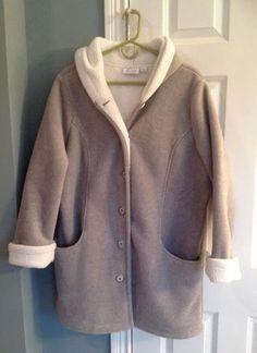 Denim and Company  Womans Fleece Jacket Size L #DCoDenimandCompany #FleeceJacket  Sold for $41