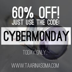 Get a whopping 60% off  EVERYTHING until midnight. Note that the offer only applies to orders over 50. #cybermonday #cybermondaysale #cybermondaysales #sale #flashsale #60percentoff #betterthanhalfprice #discount #jewellery #241 #fashion #accessories #darkfashion #grungegirl #ring #beautiful #love #cute #shopping #necklace #deal #bargain #voucher #coupon #code #thanksgivingweekend #crystals