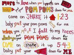 Poms Poms Jonas Brothers lyrics