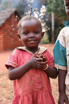 Central African Republic I love her hair :) she's too cute!!