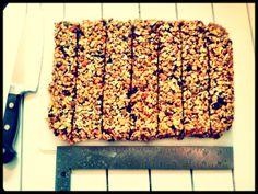 Chia GF granola bars
