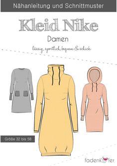 Beetle Pattern Ladies Dress Nike Source by Dress Sewing Patterns, Sewing Patterns Free, Clothing Patterns, Sweat Dress, Hoodie Dress, Sewing Clothes, Diy Clothes, Paper Cutting Patterns, Nike Dresses